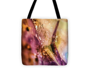 Crystals And Stones Amethyst 4636 - Tote Bag - Jani Bryson Intuitive Photographer