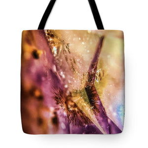 Crystals And Stones Amethyst 4636 - Tote Bag