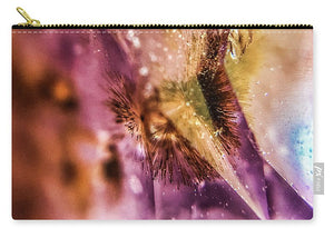 Crystals And Stones Amethyst 4636 - Carry-All Pouch - Jani Bryson Intuitive Photographer