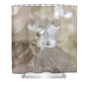 Crystals And Stones Apophyllite 5102 - Shower Curtain