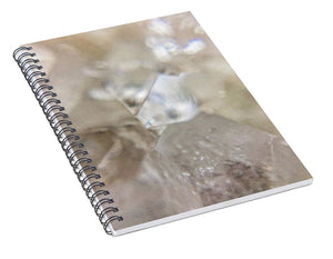 Crystals And Stones Apophyllite 5102 - Spiral Notebook