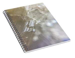 Crystals And Stones Apophyllite 5153 - Spiral Notebook - Jani Bryson Intuitive Photographer