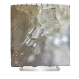 Crystals And Stones Apophyllite 5153 - Shower Curtain