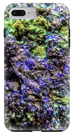 Crystals And Stones Azurite And Malachite 3231 - Phone Case