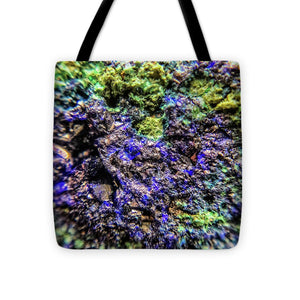 Crystals And Stones Azurite And Malachite 3231 - Tote Bag