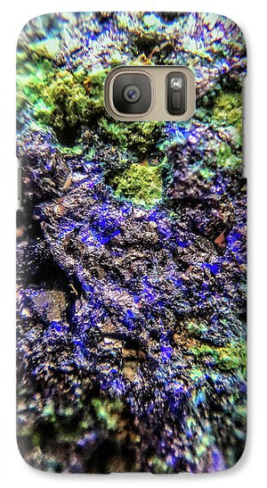 Crystals And Stones Azurite And Malachite 3231 - Phone Case - Jani Bryson Intuitive Photographer