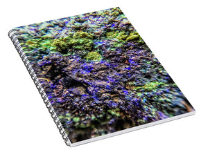 Crystals And Stones Azurite And Malachite 3231 - Spiral Notebook