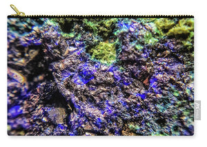 Crystals And Stones Azurite And Malachite 3231 - Carry-All Pouch - Jani Bryson Intuitive Photographer
