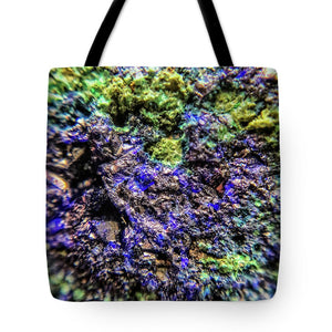Crystals And Stones Azurite And Malachite 3231 - Tote Bag - Jani Bryson Intuitive Photographer