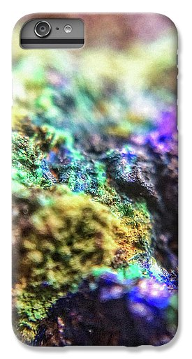 Crystals And Stones Azurite And Malachite 3318  - Phone Case - Jani Bryson Intuitive Photographer