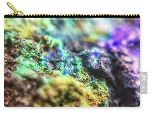 Crystals And Stones Azurite And Malachite 3318  - Carry-All Pouch - Jani Bryson Intuitive Photographer