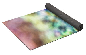 Crystals And Stones Azurite And Malachite 3318  - Yoga Mat