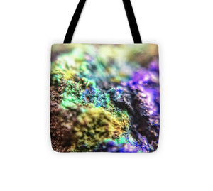 Crystals And Stones Azurite And Malachite 3318  - Tote Bag