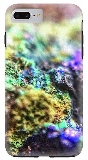 Crystals And Stones Azurite And Malachite 3318  - Phone Case
