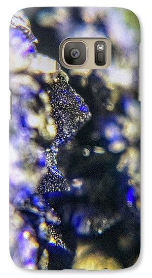 Crystals And Stones Azurite And Malachite 3728 - Phone Case - Jani Bryson Intuitive Photographer
