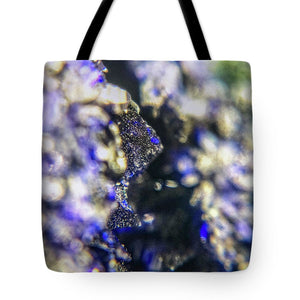 Crystals And Stones Azurite And Malachite 3728 - Tote Bag - Jani Bryson Intuitive Photographer
