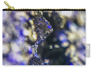 Crystals And Stones Azurite And Malachite 3728 - Carry-All Pouch - Jani Bryson Intuitive Photographer
