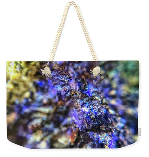 Crystals And Stones Azurite And Malachite 3991 - Weekender Tote Bag - Jani Bryson Intuitive Photographer