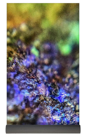 Crystals And Stones Azurite And Malachite 3991 - Yoga Mat - Jani Bryson Intuitive Photographer