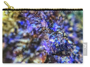 Crystals And Stones Azurite And Malachite 3991 - Carry-All Pouch - Jani Bryson Intuitive Photographer