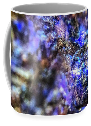 Crystals And Stones Azurite And Malachite 3991 - Mug - Jani Bryson Intuitive Photographer