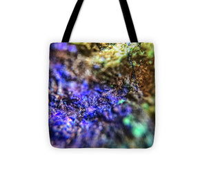 Crystals And Stones Azurite And Malachite 4003 - Tote Bag - Jani Bryson Intuitive Photographer