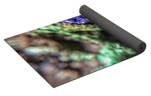 Crystals And Stones Azurite And Malachite - Yoga Mat