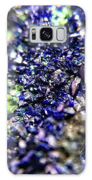 Crystals And Stones Azurite Malachite 3210 - Phone Case - Jani Bryson Intuitive Photographer