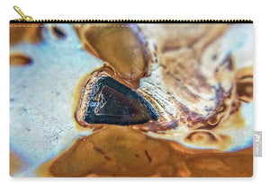 Crystals And Stones Banded Agate 2281  - Carry-All Pouch - Jani Bryson Intuitive Photographer