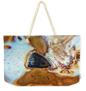 Crystals And Stones Banded Agate 2281  - Weekender Tote Bag - Jani Bryson Intuitive Photographer