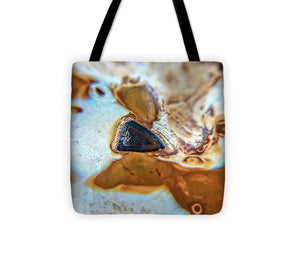 Crystals And Stones Banded Agate 2281  - Tote Bag - Jani Bryson Intuitive Photographer