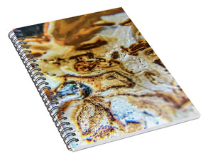 Crystals And Stones Banded Agate 2310 - Spiral Notebook - Jani Bryson Intuitive Photographer