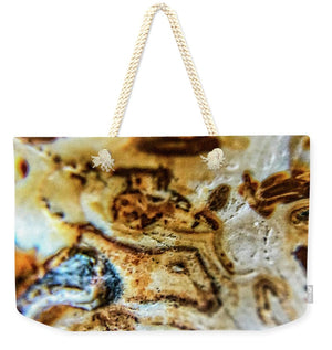 Crystals And Stones Banded Agate 2310 - Weekender Tote Bag - Jani Bryson Intuitive Photographer