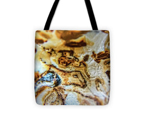 Crystals And Stones Banded Agate 2310 - Tote Bag - Jani Bryson Intuitive Photographer