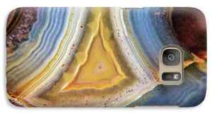 Crystals And Stones Banded Agate 2346 - Phone Case - Jani Bryson Intuitive Photographer