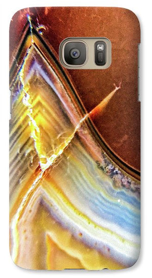 Crystals And Stones Banded Agate 2362 - Phone Case - Jani Bryson Intuitive Photographer