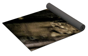 Crystals And Stones Black Tourmaline 1451 - Yoga Mat - Jani Bryson Intuitive Photographer
