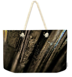 Crystals And Stones Black Tourmaline 1451 - Weekender Tote Bag - Jani Bryson Intuitive Photographer