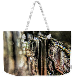 Crystals And Stones Black Tourmaline 1540 - Weekender Tote Bag - Jani Bryson Intuitive Photographer