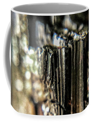 Crystals And Stones Black Tourmaline 1540 - Mug - Jani Bryson Intuitive Photographer