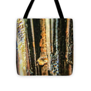 Crystals And Stones Black Tourmaline 1550 - Tote Bag - Jani Bryson Intuitive Photographer