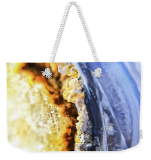 Crystals And Stones Blue Lace Agate 2880 - Weekender Tote Bag