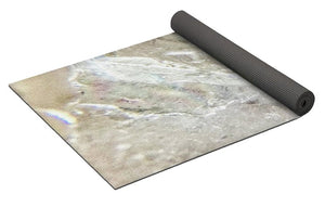 Crystals And Stones Blue Lace Agate 2883 - Yoga Mat