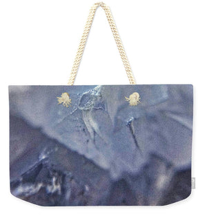 Crystals And Stones Blue Lace Agate 3076 - Weekender Tote Bag