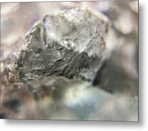 Crystals And Stones Celestite 6147 - Metal Print - Jani Bryson Intuitive Photographer