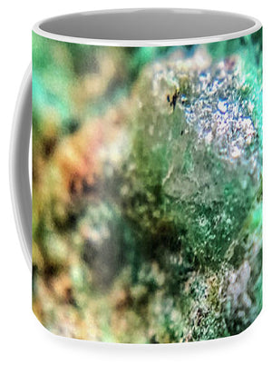 Crystals And Stones Chrysocolla 7689 - Mug - Jani Bryson Intuitive Photographer