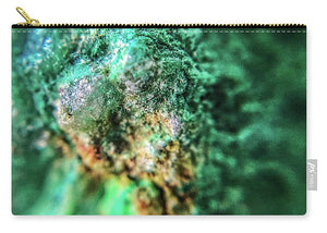 Crystals And Stones Chrysocolla 7689 - Carry-All Pouch - Jani Bryson Intuitive Photographer