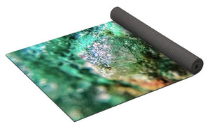Crystals And Stones Chrysocolla 7689 - Yoga Mat - Jani Bryson Intuitive Photographer