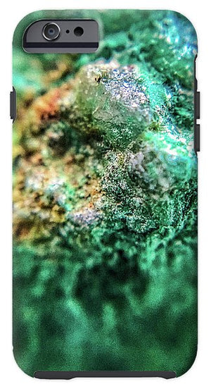 Crystals And Stones Chrysocolla 7689 - Phone Case - Jani Bryson Intuitive Photographer