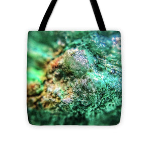 Crystals And Stones Chrysocolla 7689 - Tote Bag - Jani Bryson Intuitive Photographer